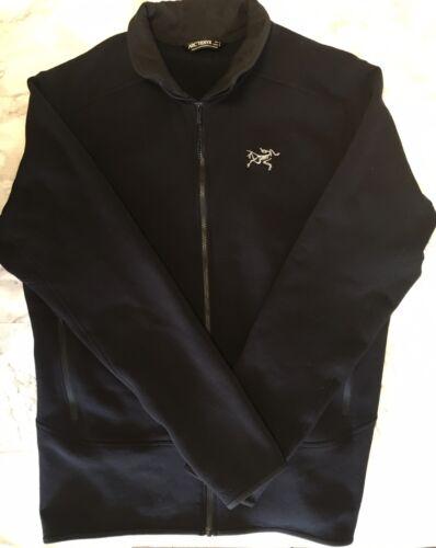 ARCTERYX Full-Zip Black Fleece Lined Jacket Coat M