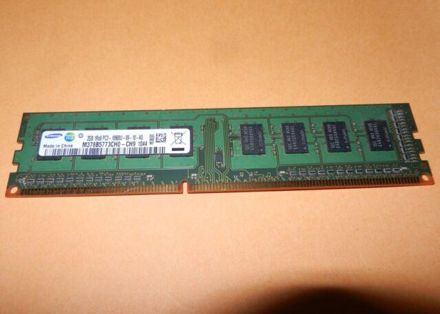 Samsung M378B5773CH0-CH9 2G DDR3 1333 PC3-10600U NON EEC Unbuffered Desktop Ram