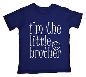 kleiner-Bruder-T-Shirt-034-I-039-m-The-034-Junge-love-Geschenk-Familie