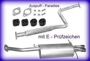 Abgasanlage-Auspuff-Endtopf-Mazda-MX-6-2-5i-24V-Coupe-Typ-GE-163PS-amp-165PS-Kit