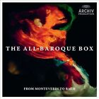 The All-Baroque Box: From Monteverdi to Bach (CD, Aug-2012, Archiv Produktion (DG Sub-Label))