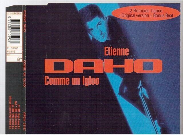 Etienne Daho Comme Un Igloo CD MAXI