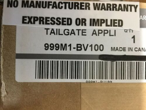 999M1BV100 999M1-BV100 Nissan Frontier Tailgate Applique  NEW OEM!!
