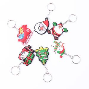 6pcs-Keyring-Christmas-Purse-Bag-Pendant-Car-Keyring-Keychain-Creative-Gift-DP