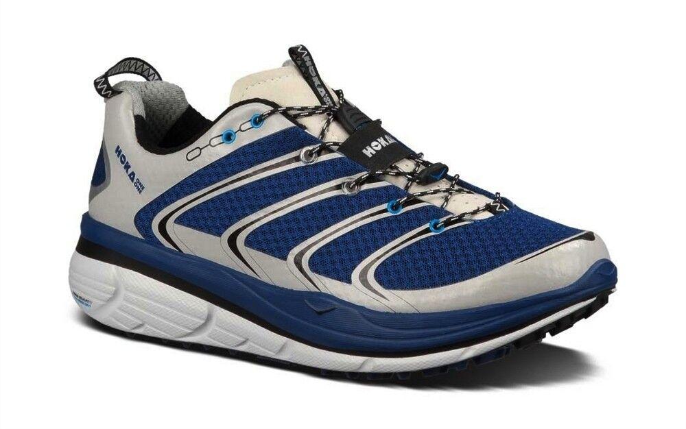 NEW MENS HOKA ONE ONE RAPA NUI 2 TRAIL RUNNING SHOES - 9.5 - EUR 43 1 3 - blueE
