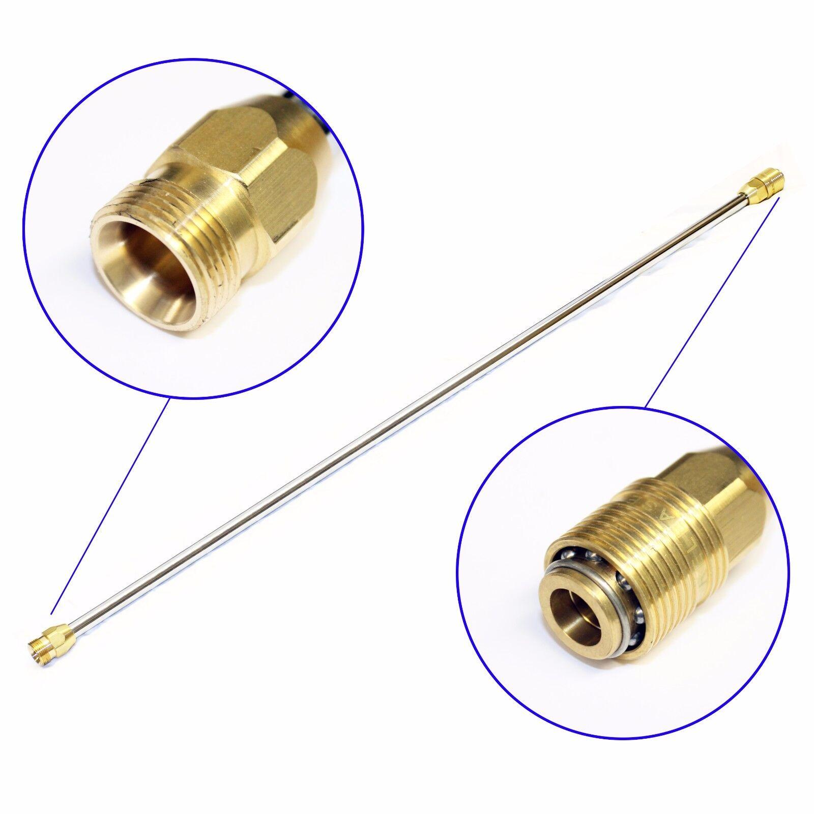 Arandela de presión Lanza de Acero Inoxidable 36  Limpiador de chorro de alta potencia 900mm