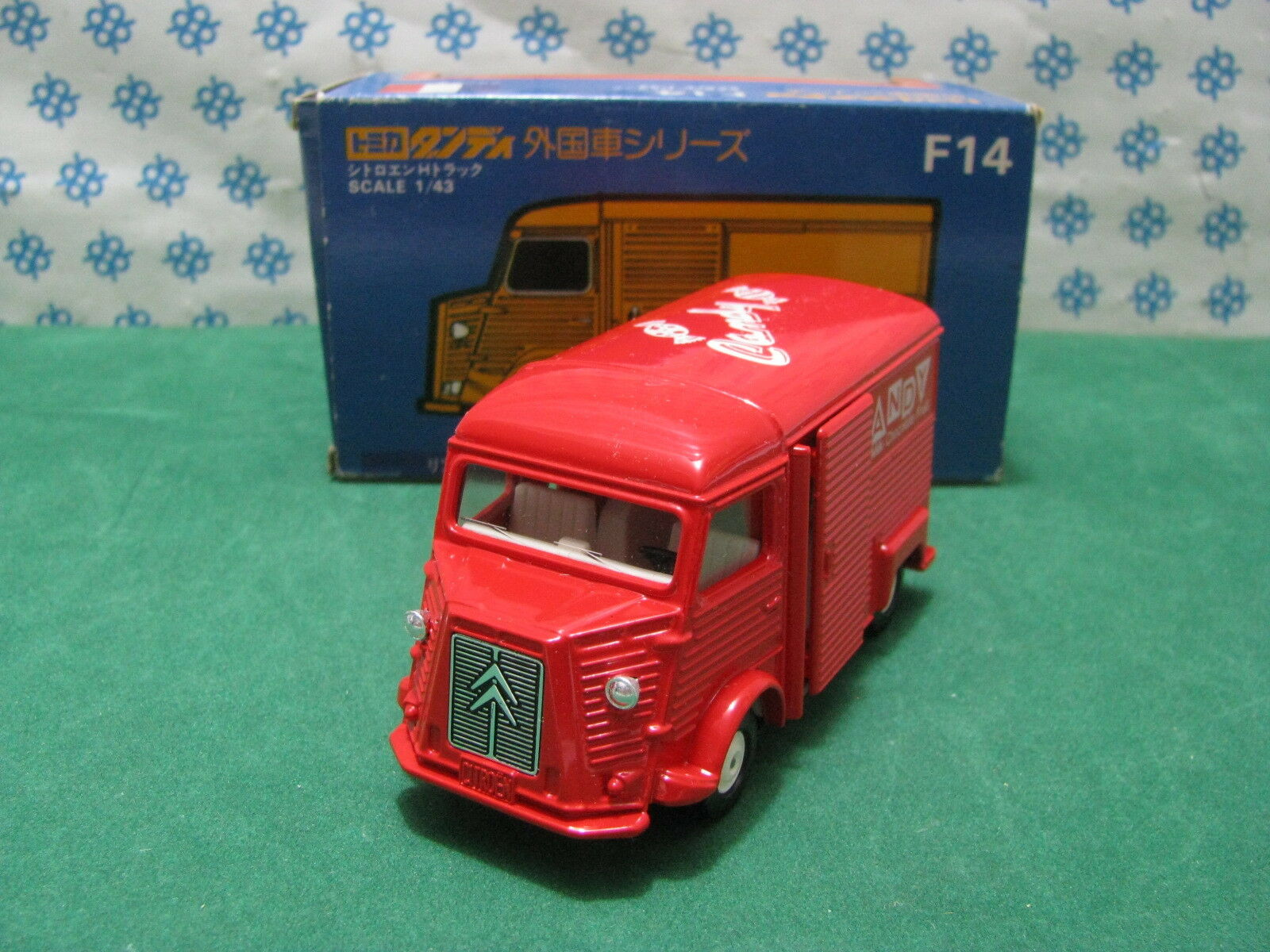 Rare - CITROEN Type H  Candy Lait Fruits Choc.  - 1 43 Tomica Dandy