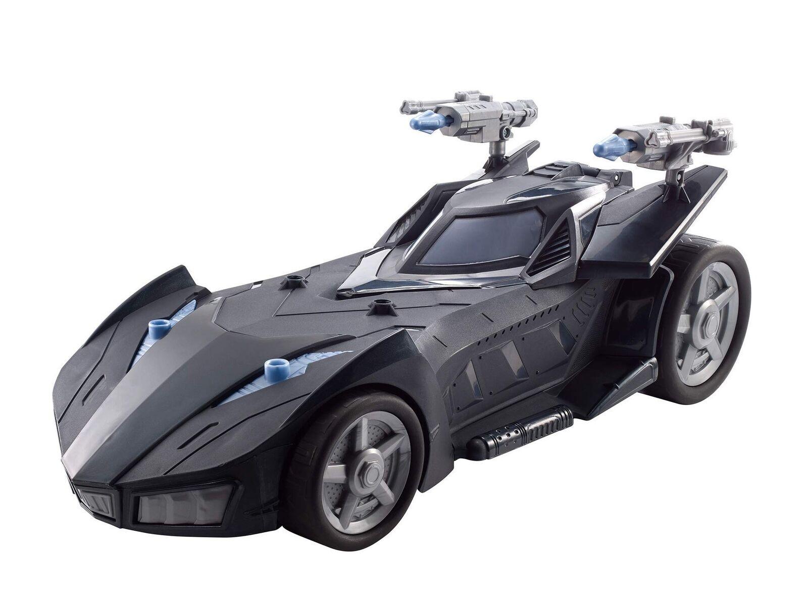 Batman fvm60 missionen raketenwerfer batmobil fahrzeug, mehrfarbige