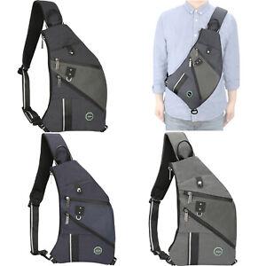 Details About Concealed Sling Bag Anti Theft Backpack Chest Shoulder Men Crossbody
