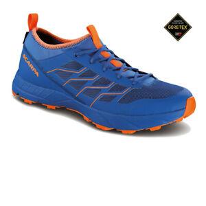 Scarpa-da-uomo-Atom-SL-GORE-TEX-TRAIL-RUNNING-Scarpe-Da-Ginnastica-Blu-Sport