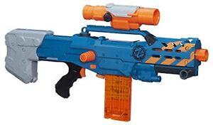 Frappe du Zombie Nerf Zed Squad Longshot Blaster Cs-12
