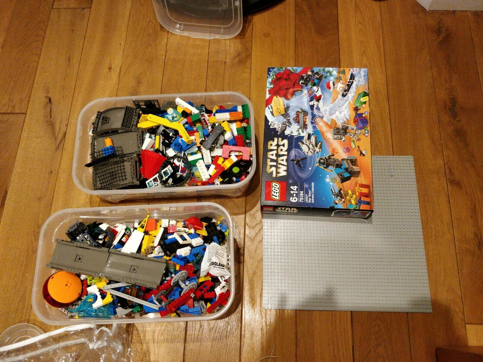 Mixed lego pieces 6.5 Kg With Figurines