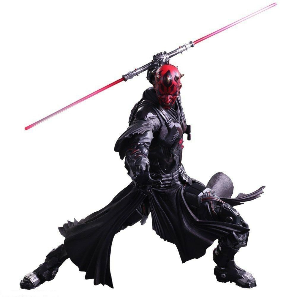 Play Arts Variant Kai Guerra De Las Galaxias Darth Maul Square Enix Japan F/S J6550