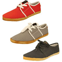 Mens Fish N'chip Canvas Shoes - Spam