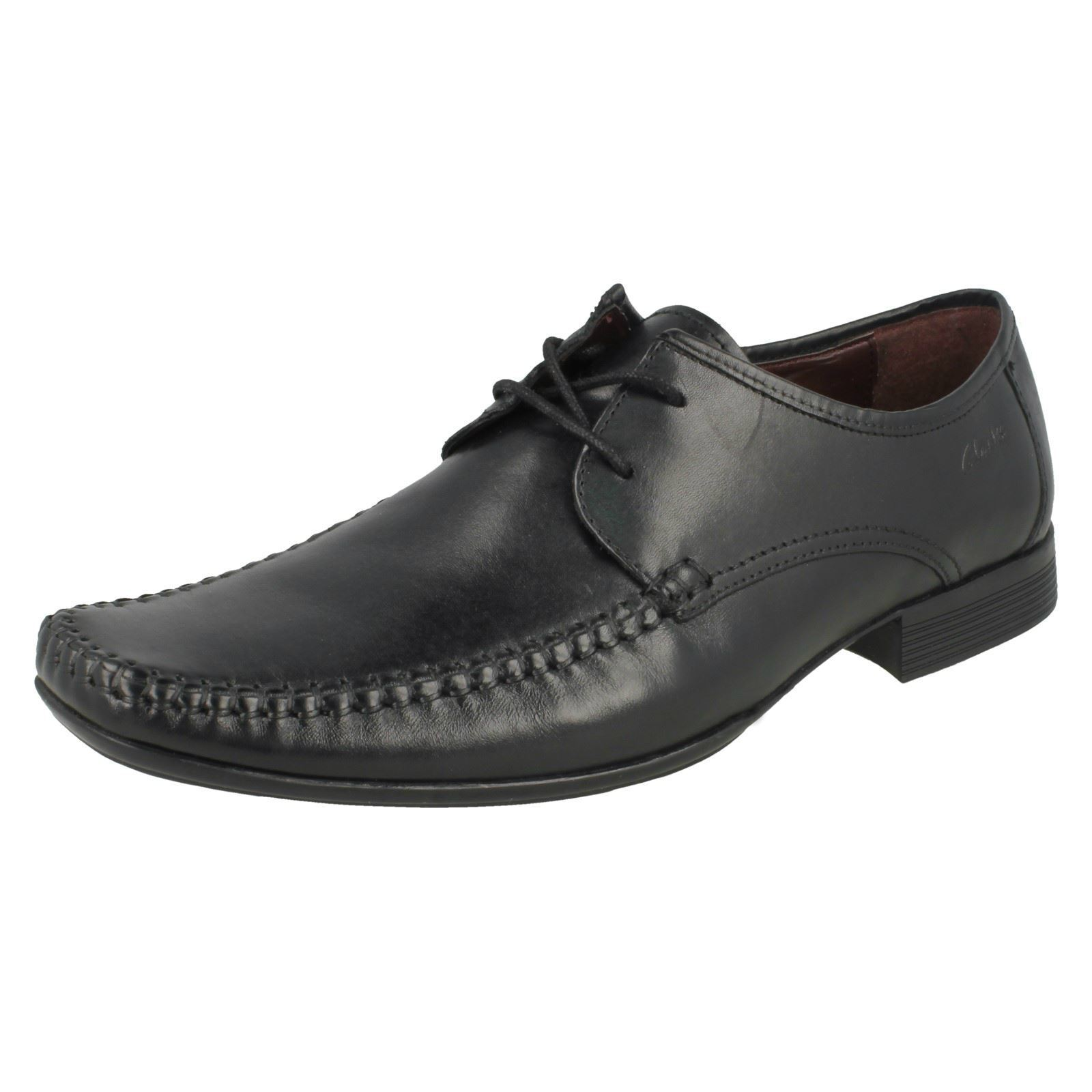 Uomo Clarks Lace  Ferro Walk Formal Lace Clarks Up Schuhes 92610b