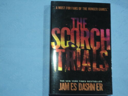 1 of 1 - The Scorch Trials Book 2 in The Hunger Games by James Dashn ER  Read Once As New