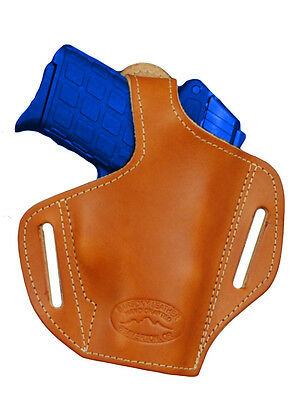 Holsters Holsters, Belts & Pouches Straightforward New Barsony Tan Leather Pancake Holster S&w Small 380 Ultra Compact 9mm 40 45
