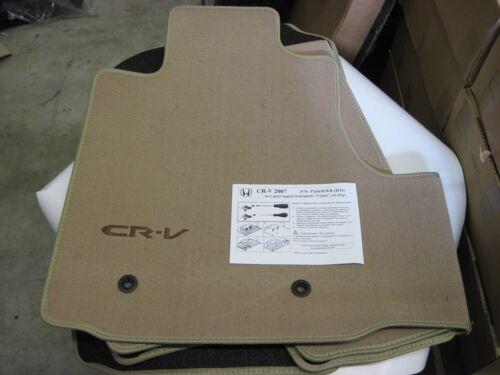 Tappetini Originali Nuovo Honda CR-V 2006 /> colore beige alta resistenza