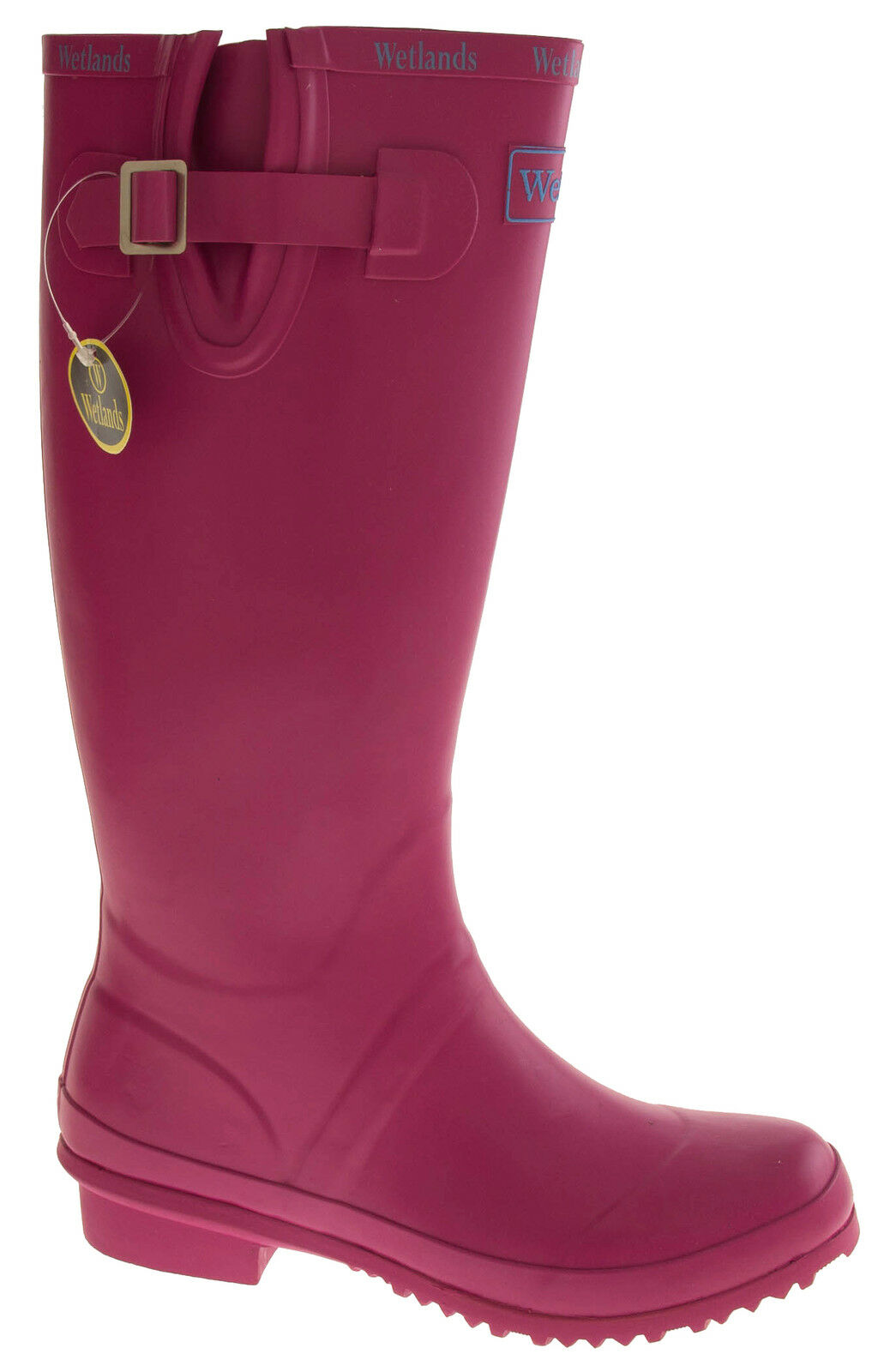 NEW Womens Pink WETLANDS Festival Garden Wellies Wellington Boots Size 4 5 6 7 8