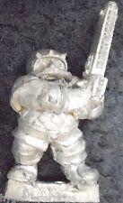 1988 Dwarf Bloodbowl 2nd Edition Star Player Flint Churnblade Citadel Chainsaw