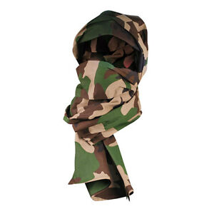 Details about French Army Military CheChe Tactical Cotton Head Neck Scarf  Scrim Shemagh Gaiter 65a2e51a39b