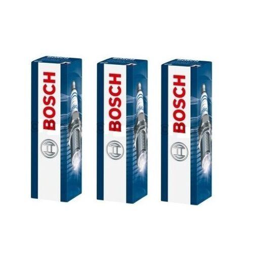 Spark Plugs x 3 Bosch Fits Vauxhall Corsa MK II MK III Agilia MK I 1.0 12V Opel