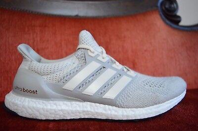 WORN TWICE Adidas Ultra Boost LTD 1.0 CHALK CREAM AQ5559 Size 13 OG ALL | eBay