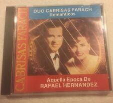 Romanticos - Aquella Epoca De Rafael Hernandez Dup Cabrisas Farach Music Cd