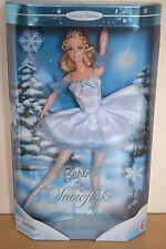 2000 Edizione da Collezione Balletto SERIE BARBIE come fiocco di neve in Lo Schiaccianoci