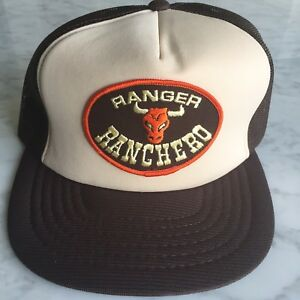 04d14382ebd786 Details about Vtg Ford Ranger Ranchero Car Truck Snapback Mesh Skateboard Hipster  Trucker Hat