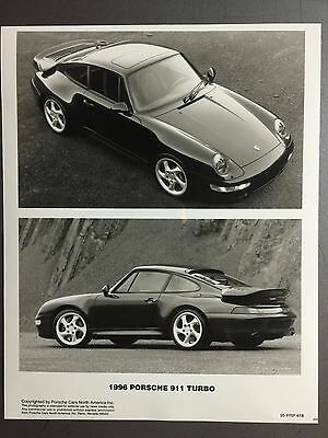 PORSCHE FACTORY ISSUED 911 993 TARGA COLLECTOR POSTCARD SET OF 5 1996-1998