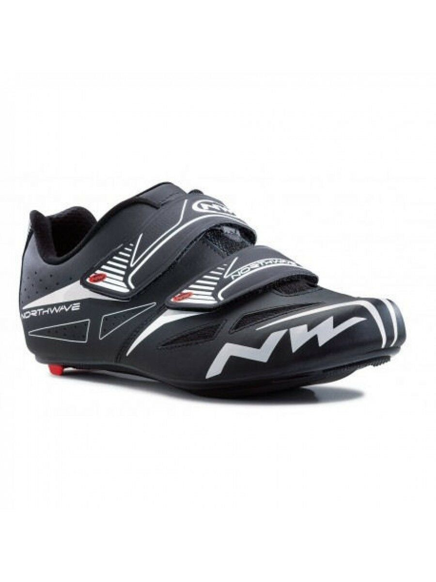 Northwave Jet Evo shoes black Ciclismo Strada Tg 47