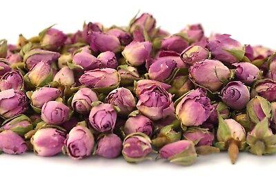 Rosa Boccioli Di Rose 50g, Fiori Di Rosa Essiccati, Bagno Craft Tè, Potpourri Candele Sapone-mostra Il Titolo Originale Materiali Superiori