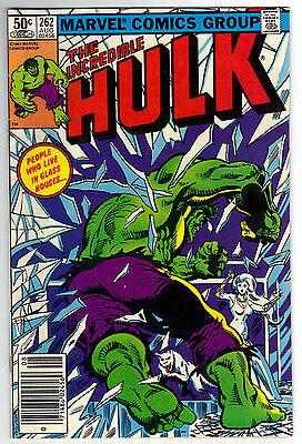 Incredible Hulk 262 VF- condition