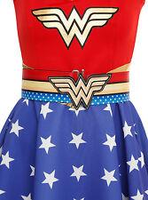 DC Comics Wonder Woman Halloween Costume Cosplay Stretch Adjustable Cinch  Belt 53132ef628