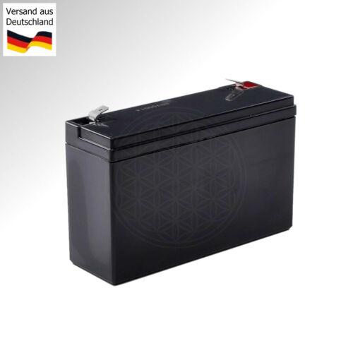 Blei Akku 6V passend für CNC Fräse DECKEL Maho Steuerung Philips 432//09 /& 432//10