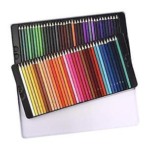72 Colored Pencils Set Atmoko Watercolor Art Coloring BULK With ...