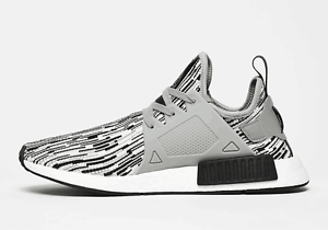 5e1d2e2b1 ADIDAS NMD XR1 PK PRIMEKNIT GLITCH CAMO OREO BLACK WHITE GREY BY1910 ...