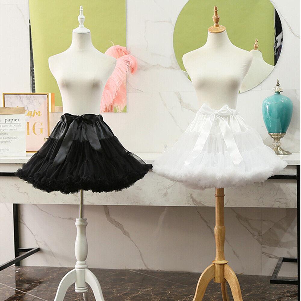 Candy Crinoline Hoopless Petticoat Lolita Skirt Cosplay Skirt Yarn Underskirt