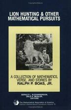Lion Hunting and Other Mathematical Pursuits: A Collection of Mathematics, Verse