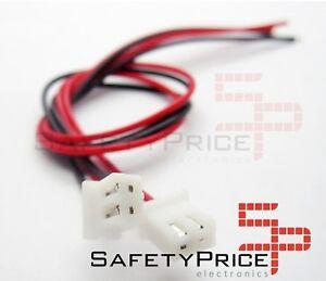 5x-cable-XH-2p-2-54mm-30cm-ventilador-arduino-robotica-electronica-XH2-54mm-jst