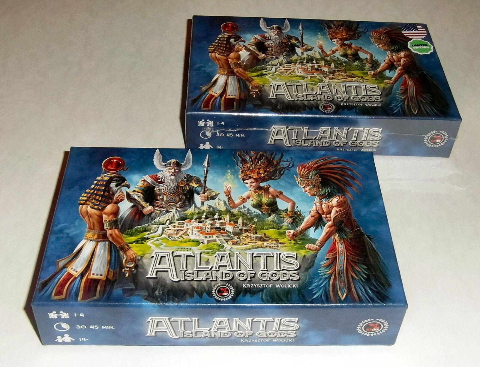 Atlantis  Island of Gods - REDIMP Games - 2018