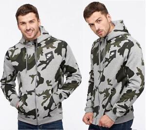 Details about Nike AOP Fleece Hoodie Mens Camouflage Hoodie Sweat Camo Full Zip Hoody show original title