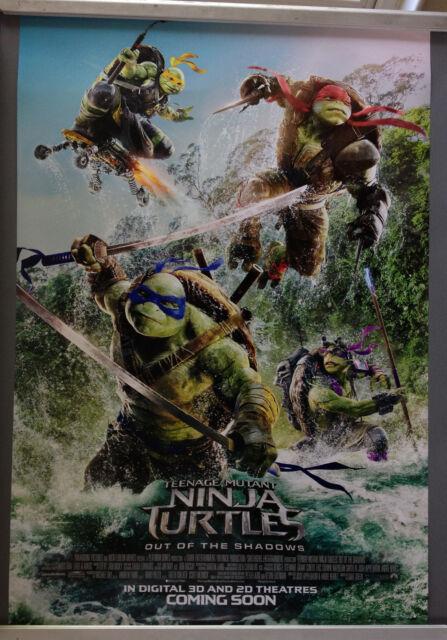 Cinema Poster: TEENAGE MUTANT NINJA TURTLES OUT OF THE SHADOWS 2016 Wave 1 Sheet