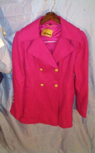 Angeles donna Giubbotto Los da in L Sz maniche Guess a di rossa lana lunghe doppio wqpaTC7wf