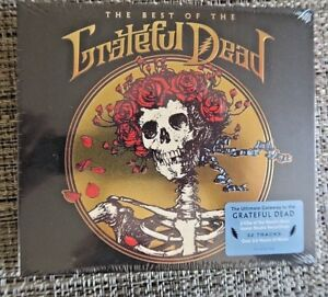 THE-BEST-OF-THE-GRATEFUL-DEAD-2-CDs-2015-Rhino-NEW-w-RARE-EMBOSSED-COVER