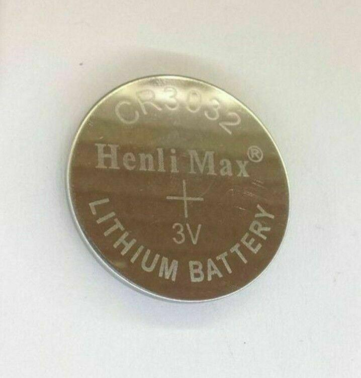 1 x Henli Max CR3032 BR3032 ECR3032 DL3032 L3032 CR BR DL L. 3032 Coin Battery