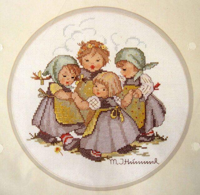 Needle Treasures Cross Stitch Needlework Kit M I Hummel Ring Around the Rosie