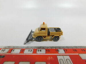 Cg362-0-5-Wiking-h0-1-87-Unimog-Mercedes-Benz-mb-con-quitanieves-64k-Neuw