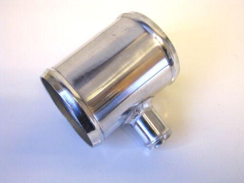 """Alu Ansaugung Induktion T-Stück Verbindung 70mm 2.75 /"""" mit 25mm T Alu"""